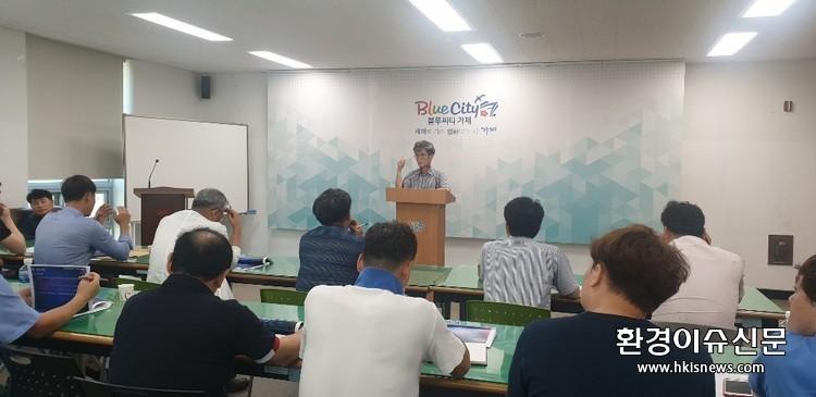 행정타운 조성공사, '복마전'속 새 사업자 공모